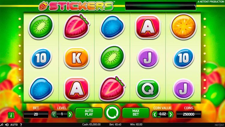 Stickers-Slot
